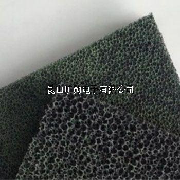 透气:均质的三维立体网状结构